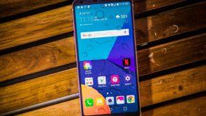 تعویض مادربرد گوشی ال جی G6