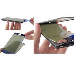 نحوه تعویض گلس موبایل