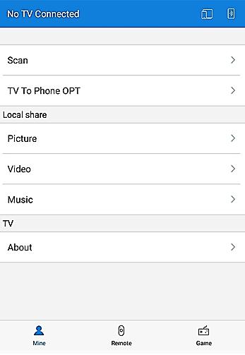 اتصال موبایل به تلویزیونهای Gplus