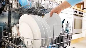 تمیز نشستن ظرفها در ظرفشویی